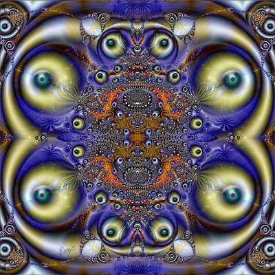 u018 Multisighted Restless Pathfinder Art Print