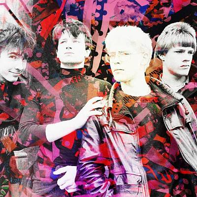 Digital Art - U2 by Anne Thurston