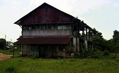 Photograph - Uac Abandoned House by Muyiwa OSIFUYE