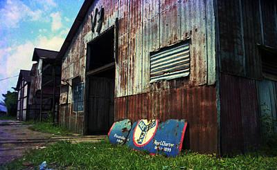 Photograph - Uac Abandoned Warehouse by Muyiwa OSIFUYE