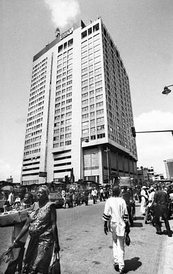 Photograph - Uba Bank Marina by Muyiwa OSIFUYE