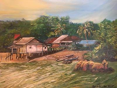 Painting - Ubin My Love by Belinda Low
