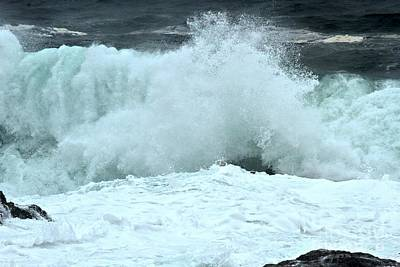 Photograph - Ucluelet Breakers by Adam Jewell