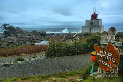 Ucluelet Briish Columbia Lighthouse Print by Adam Jewell