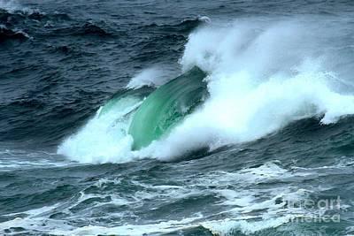 Photograph - Ucluelet Crashing Swells by Adam Jewell