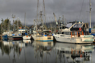 Photograph - Ucluelet Fishing Crew by Adam Jewell