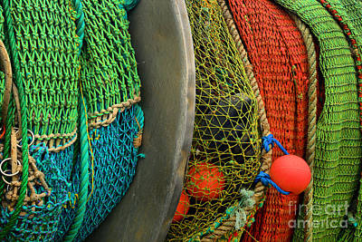 Photograph - Ucluelet Fishing Nets by Adam Jewell