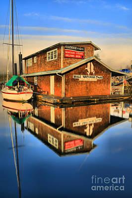 Photograph - Ucluelet Floathouse Portrait by Adam Jewell