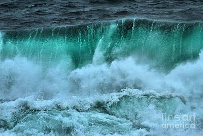 Photograph - Ucluelet Wave Curl by Adam Jewell