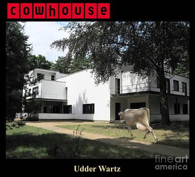 Cowhouse Digital Art - Udder Wartz No. I by Geordie Gardiner