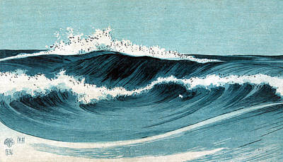 Photograph - Uehara: Ocean Waves by Granger