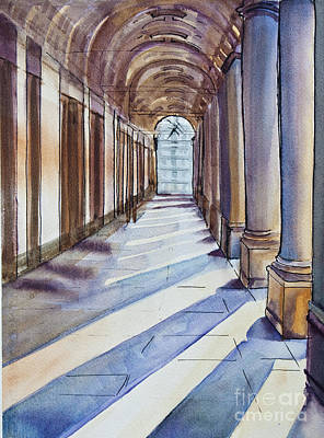 Painting - Uffizi Light by Dianne Green