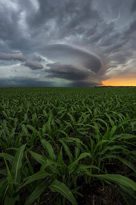 Photograph - UFO by Aaron J Groen
