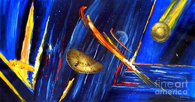 UFO Art Print by Arturas Slapsys