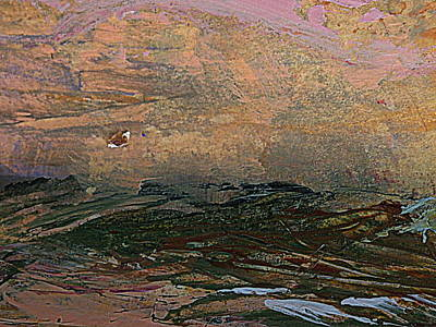 Painting - UFO by Nancy Kane Chapman