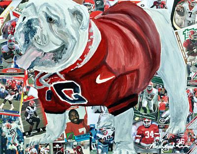 Sports Paintings - Ugga by Michael Lee