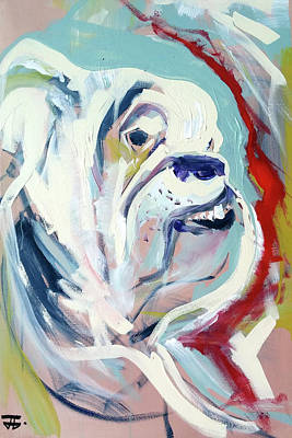 Painting - Ugga Side by John Jr Gholson