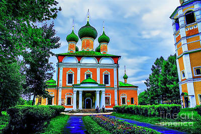 Photograph - Uglich Church by Rick Bragan
