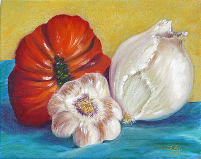 Painting - Ugly Tomato by Tracie L Hawkins