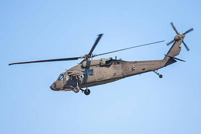 Photograph - Uh-60 Blackhawk Over Boston by Brian MacLean