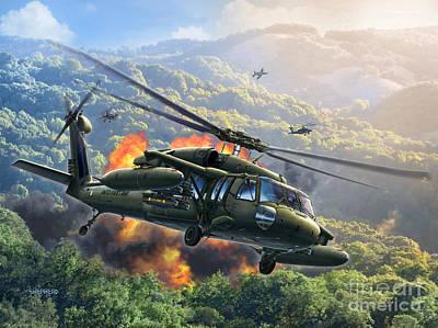Uh-60 Blackhawk Art Print