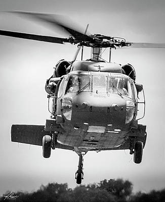 Photograph - Uh60 Black Hawk by Philip Rispin