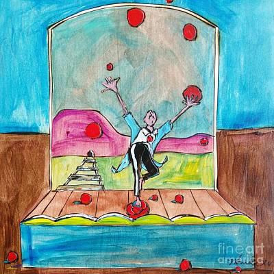 Painting - Uhl-l-l-l by John Stillmunks