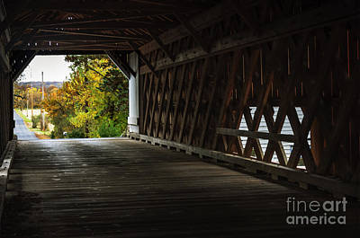 Photograph - Uhlerstown Bridge I by Debra Fedchin