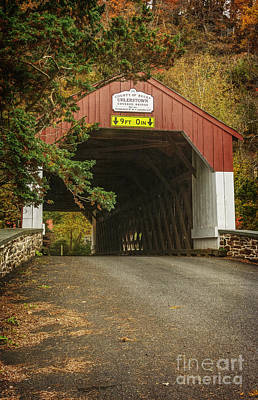 Photograph - Uhlerstown Bridge II by Debra Fedchin