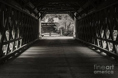 Photograph - Uhlerstown Covered Bridge IIi by Debra Fedchin