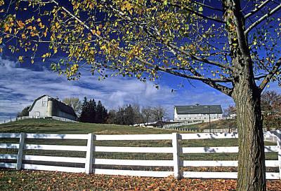 Photograph - U I Ag Barns by Doug Davidson