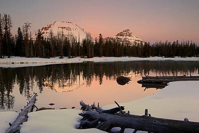 Photograph - Uinta Morning Glow. by Johnny Adolphson