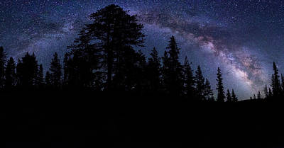 Photograph - Uinta Stars Panorama by Johnny Adolphson