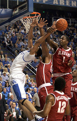 Rupp Arena Photograph - Uk V Alabama - 16 by Mark Boxley