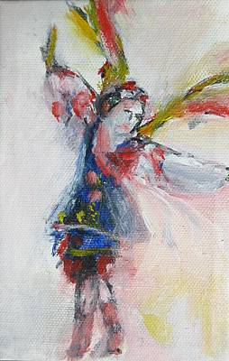 Painting - Ukrainian Dancer by Denice Palanuk Wilson