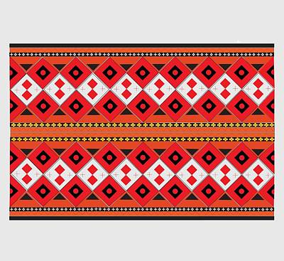 1-war Is Hell Royalty Free Images - Ukrainian Embroidery Horizontal Royalty-Free Image by Yuri Lev