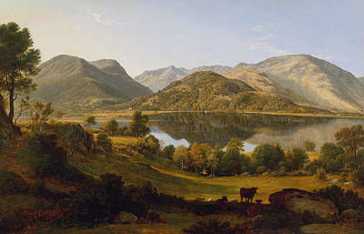 Painting - Ullswater, Early Morning by John Glover
