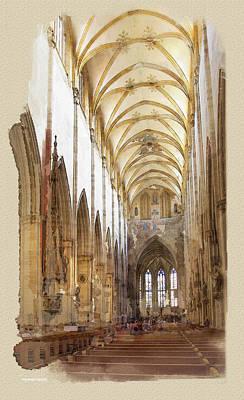 Ulm Digital Art - Ulm by Ron Jones