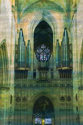 Ulm Digital Art - Ulm Ulm Cathedral   by PixBreak Art