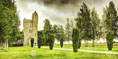 Photograph - Ulster Tower In The Somme - Vintage Version by Weston Westmoreland