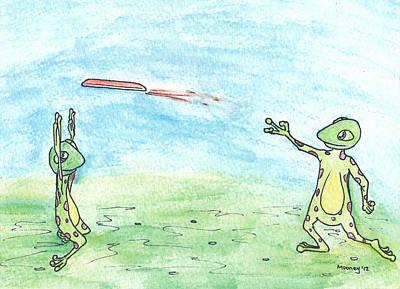 Ultimate Froggie Art Print by Michael Mooney