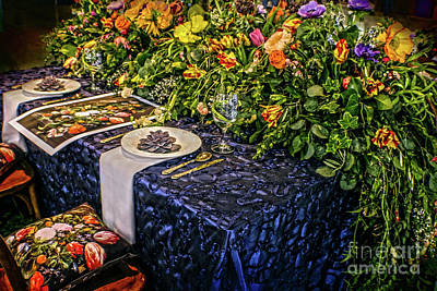 Photograph - Ultimate Table Setting by Sandy Moulder