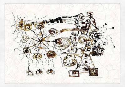 Digital Art - Ultra Microbe 3754 by Marek Lutek