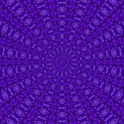 Digital Art - Ultra Violet And Purple Satin Harmony by Tracey Harrington-Simpson