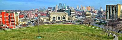 Photograph - Ultra Wide Kc Pano by Frozen in Time Fine Art Photography