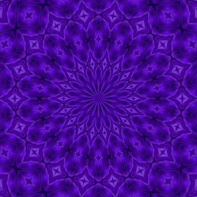 Digital Art - Ultraviolet Enigma Pattern by Tracey Harrington-Simpson