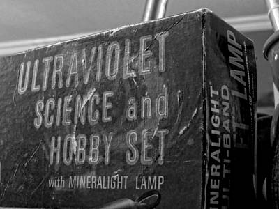 Photograph - Ultraviolet Science And Hobby Set by Kyle J West
