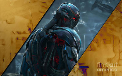 Comics Mixed Media - Ultron Collection by Marvin Blaine