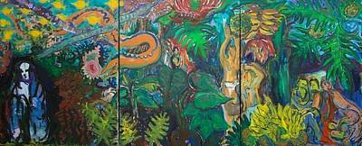 Pele Painting - Ulu For Pele by Peter Kowalke