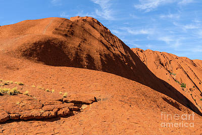 Photograph - Uluru 04 by Werner Padarin